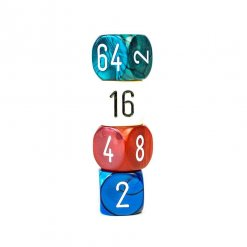Doublers teal white red blue