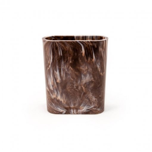 Brown Marbled dice cup