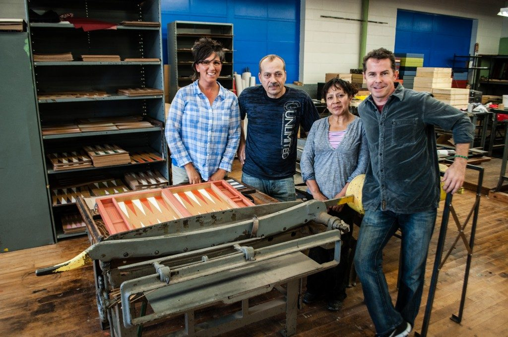 Crisloid Team in factory