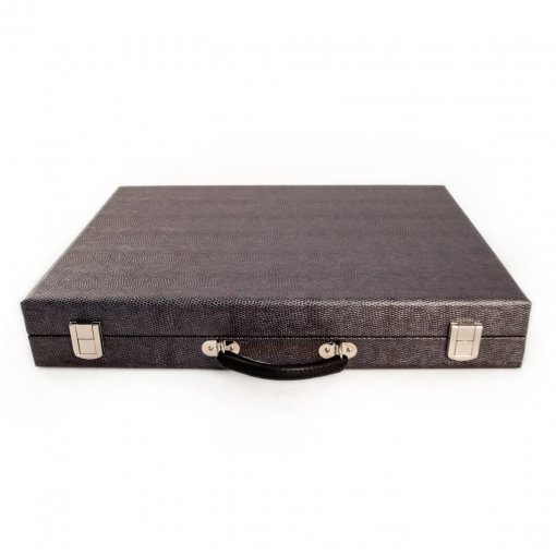 Attache Crisloid Backgammon snakeskin