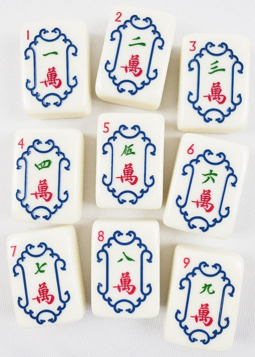 Mahjong Crack Tiles